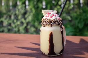 Doña Luz restaurante milkshake